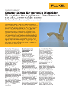 German Wind Turbine Application Note