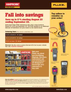 Fall HVAC Stocking Promo Flyer