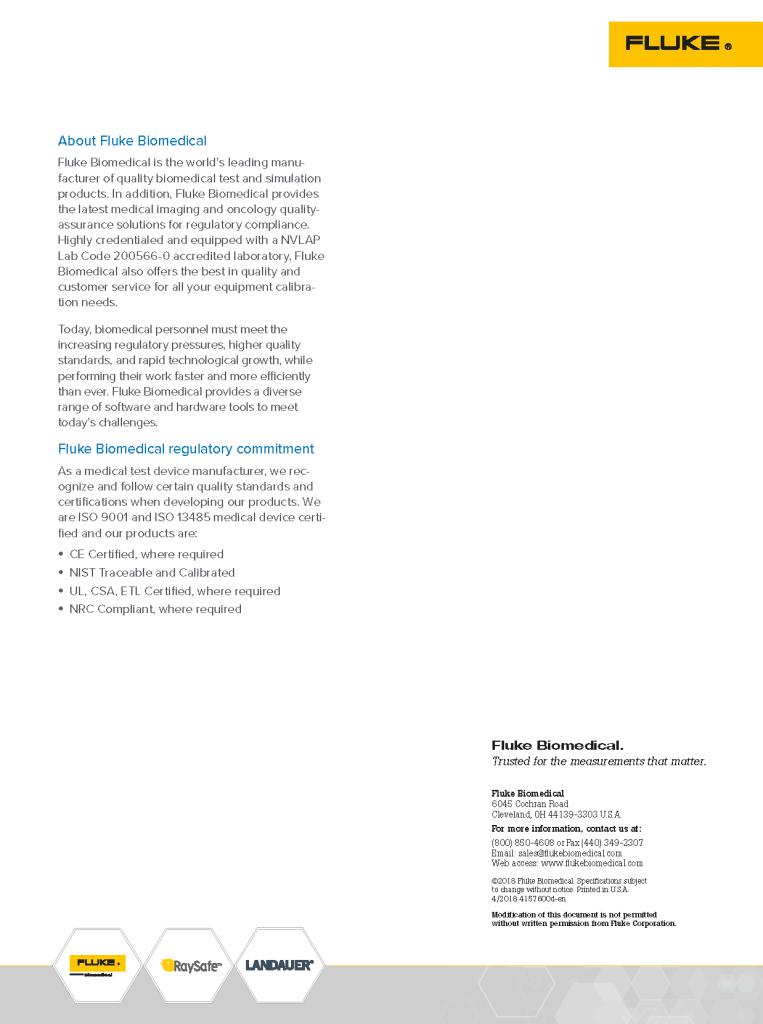 Prosim Spotlight Datasheet