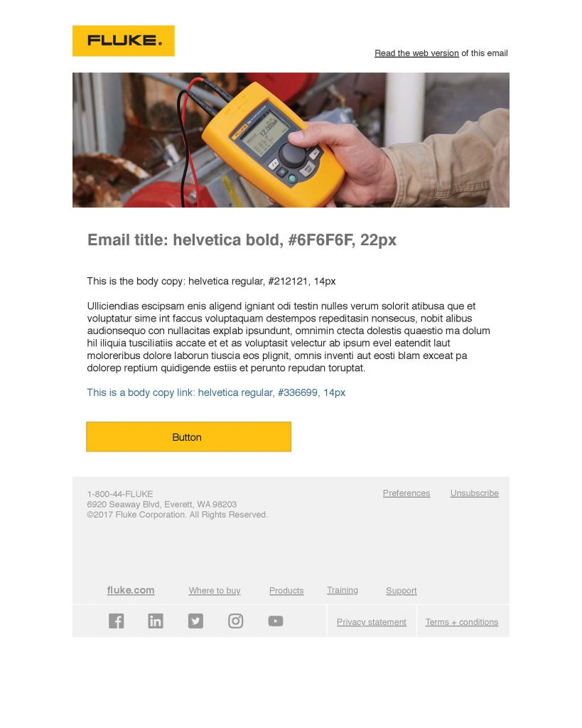 710 Valve Tester Campaign Email