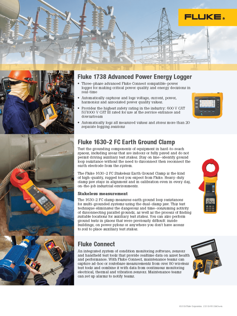 Utility Vertical Market Products Flyer