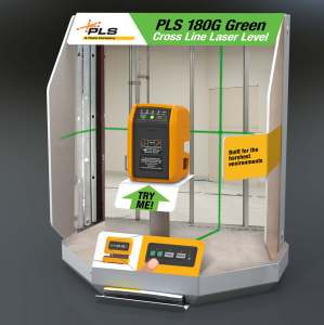 PLS 180 Point of Purchase Display