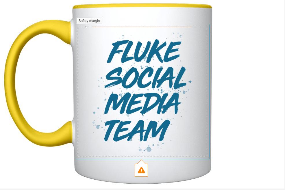 Fluke Social Media Mug Designs