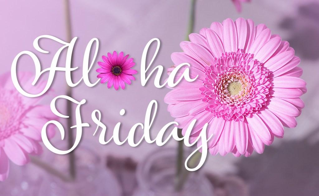 Pink Daisy Aloha Friday