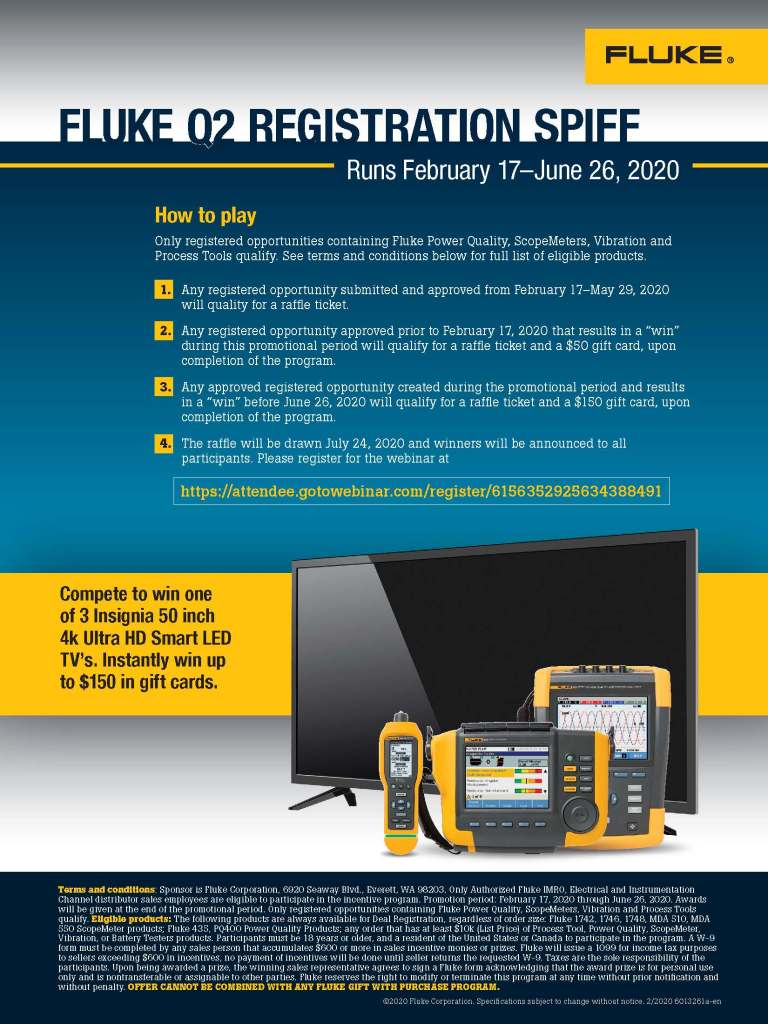 Fluke Q2 Registration Flyer