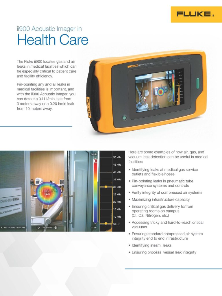 ii900 Healthcare Flyer