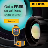 Fluke Thermal Imaging Lens Promo Web Banners