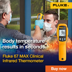 Fluke 67 MAX Clinical Infrared Thermometer Campaign, Web Banners