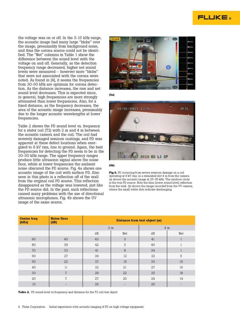 Fluke Acoustic Imaging of PD, White Paper