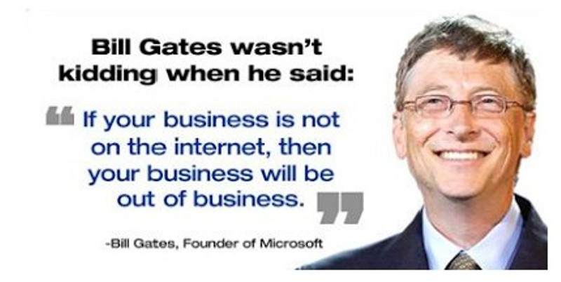 bill gates and the internet