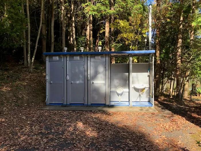 第1キャンプ場のトイレ