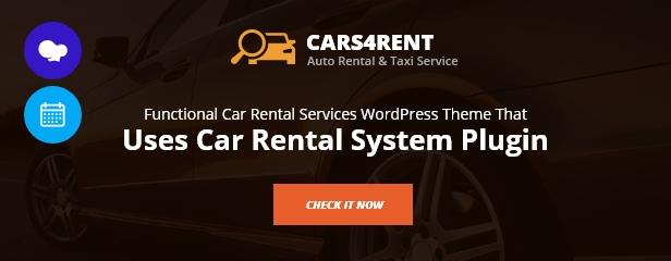 Car Rental System (Native WordPress Plugin) - 12
