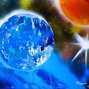 """"""" Terre et espace """" Disponible"""