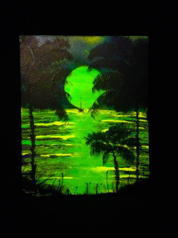Evasion Peinture par Mounia LOUKRISS