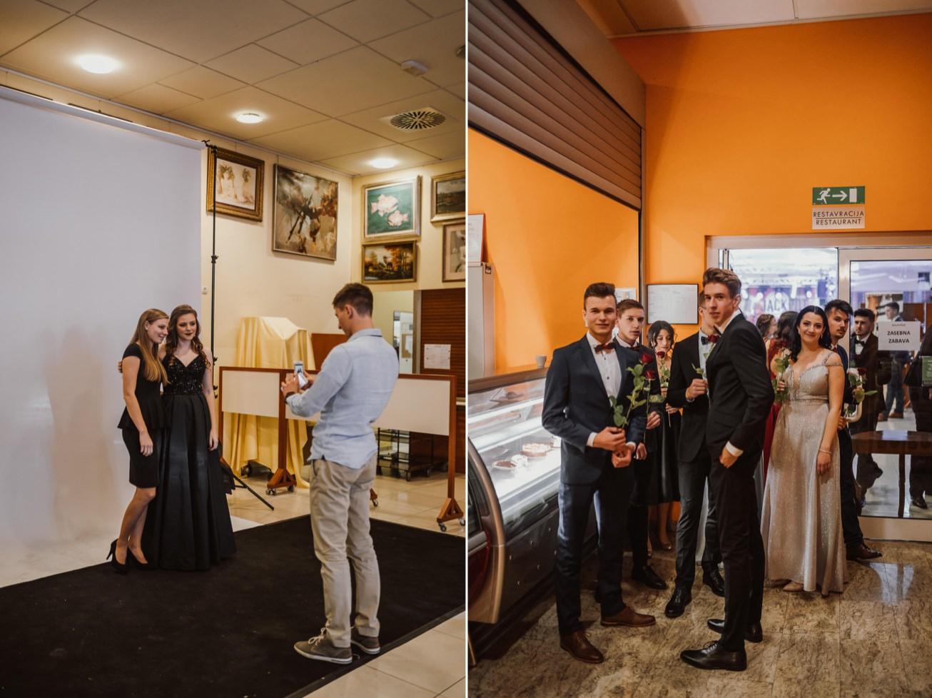 Gospodarsko razstavisce Ljubljana fotograf maturantski ples 16