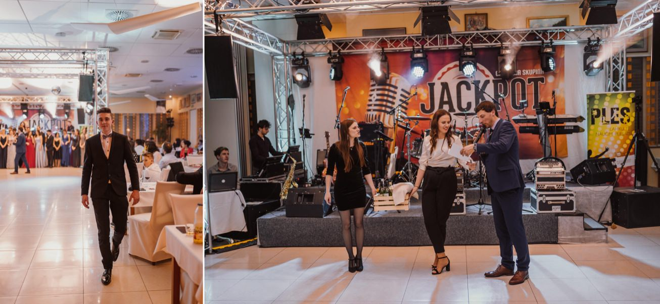 Gospodarsko razstavisce Ljubljana fotograf maturantski ples 84