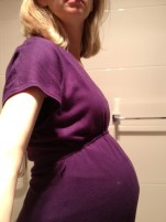 This is my small bump at 37 weeks