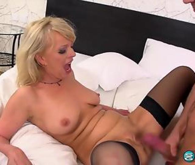Blond Haired Mature Enjoying Impromptu Hardcore