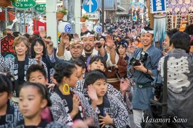11月4日本宮一斉に踊る