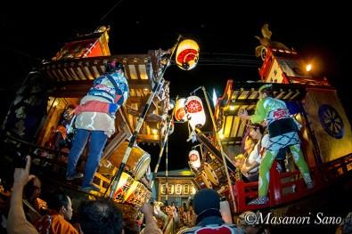 11月4日福地と宮本の競り合い
