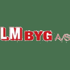 LM Byg logo
