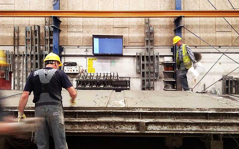 Holcim Belgiumuses Maturix Concrete Monitoring for its Precast Clients