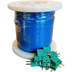 Type K Thermocouple Roll and Connectors 250px
