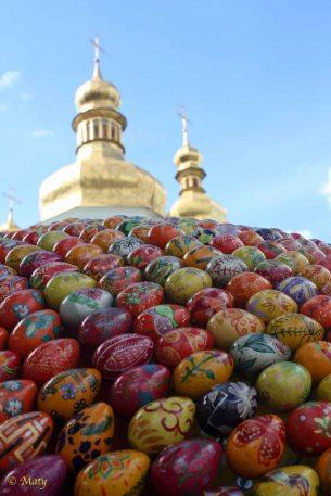 Pecherska Lavra Monastery, Golden Domes and eggs