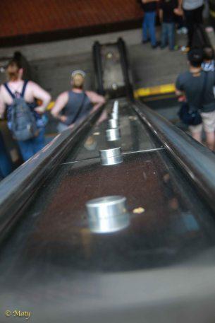 Little details of Metro escalator