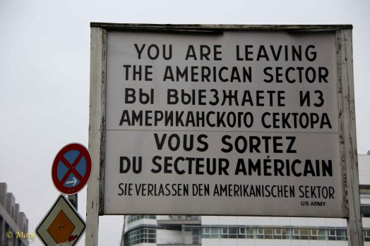 Leaving American Sector