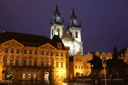 Prague - Old City late at night