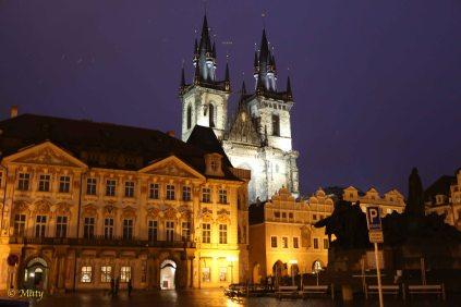 Prague - Old City late at night