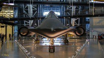 Lockheed SR-71 Blackbird - nose shoot