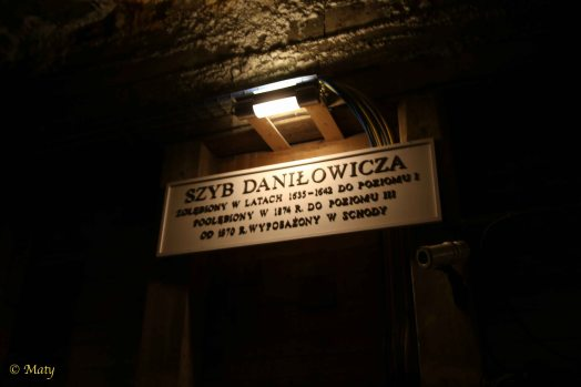 In Wieliczka Salt Mine - what is how we are going down