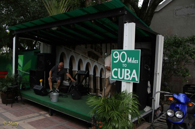 Yeah, only 90 miles to Cuba