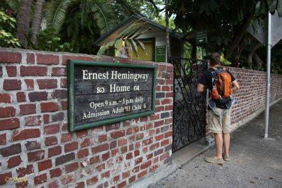 House of Ernest Hemingway...