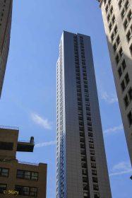 Modern Apartment complex in Manhattan