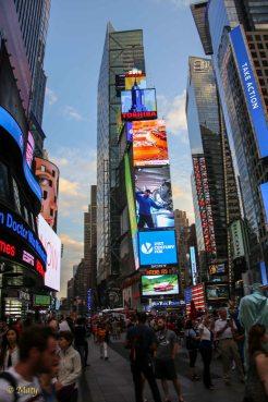 I like Times Square!