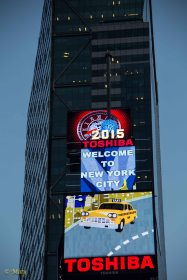 Welcome to NYC! Times Square 2015!