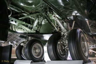 Boeing B-52D Stratofortress main wheels