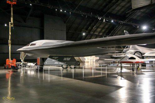Northrop B-2 Spirit and Boeing X-45A J-UCAS