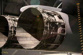 Engines of Boeing B-1B Lancer - it looks like Star Wars stuff