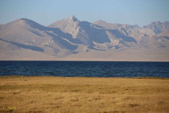 Song Kul Lake, steppe and mountains!