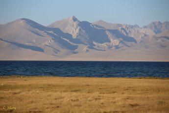 Song Kul Lake, steppe and mountains!