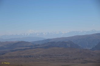 """View from the the top of the """"hill"""" - 4010 M above the sea level"""