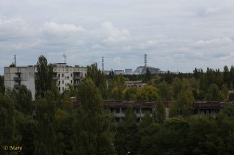 nuclear plant was not too far away from the city center