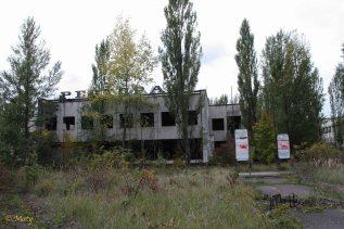Center of city of Pripyat