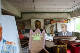 some other faces of Soviet party leaders - city of Pripyat