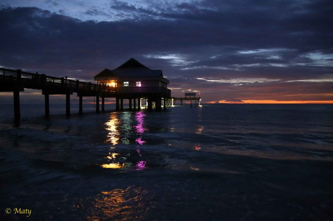 ... another sunset view in Clearwater Beach!