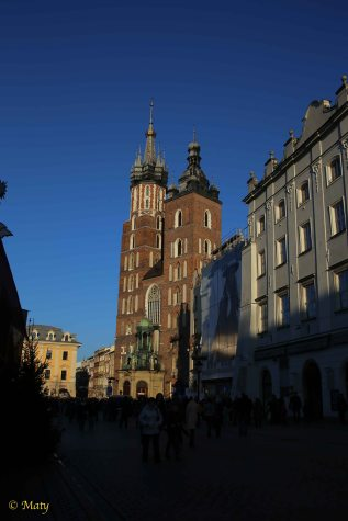Kosciol Marjacki, Krakow - famous two towers